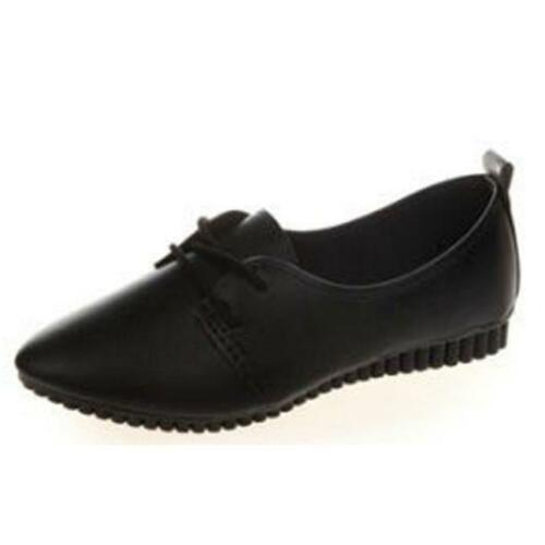 Fashion Women Ladies Loafers Comfort Pumps Casual Work School Flat Shoes Casual