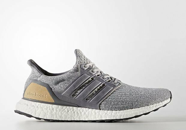 Adidas Ultra Boost Grey Tan LTD Leather Suede Size 8. BB1092 NMD Yeezy PK