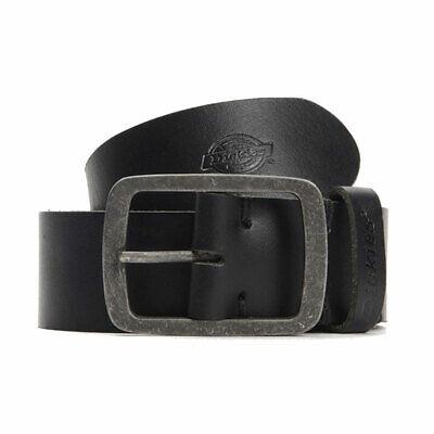 Cinta Uomo Cintura Dickies Eagle Lake Leather Belt Black