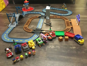 Paw-Patrol-Mega-Roll-Complete-Track-Sets-Lookout-Tower-Tracks-Racers-amp-Fig-Lot