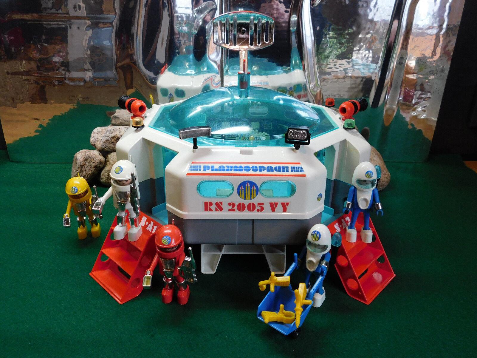 Playmobil Rarität Raumstation 3536-A 1980 ohne OVP
