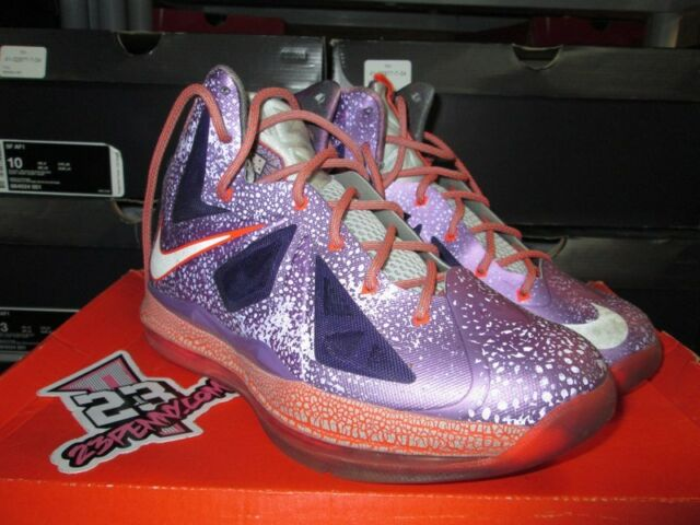 official photos 76c22 f0e0c SALE NIKE LEBRON X 10 GS LASER PURPLE ALL STAR GAME ASG SZ 6.5Y 543564