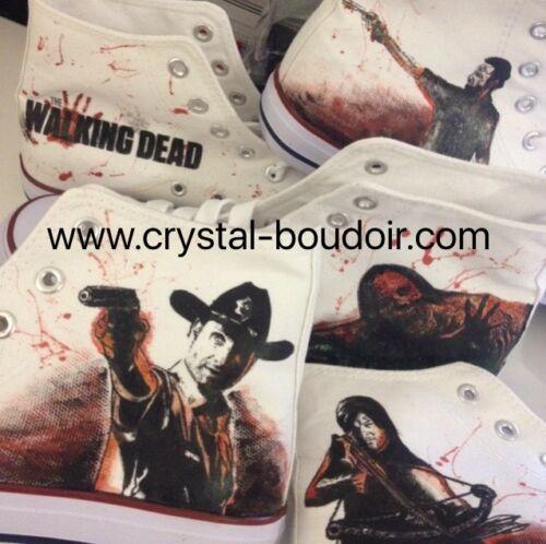 NEGAN LUCILLE DARYL DIXON RICK GRIMES The Walking Dead Custom High Tops