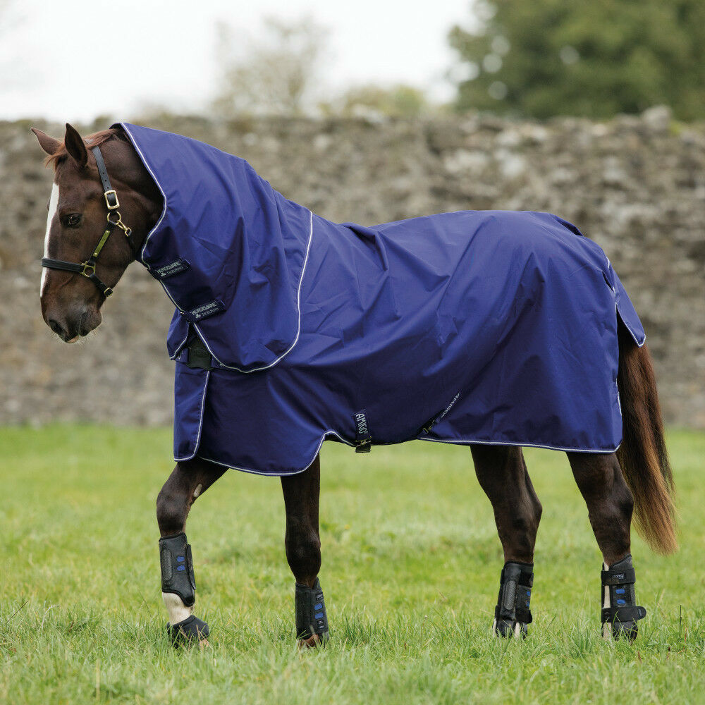 Horseware amigo Hero Acy plus turnout turnout turnout 0g Lite Disc-Atlantic azul 51a20f