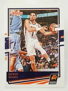 Panini Donruss 2020-21 N13 NBA trading card base #112 Phoenix Suns Devin Booker