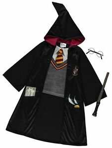 Costume Halloween Hermione.Details About Harry Potter Hermione Granger Fancy Dress Costume Halloween Ages 5 12 Years