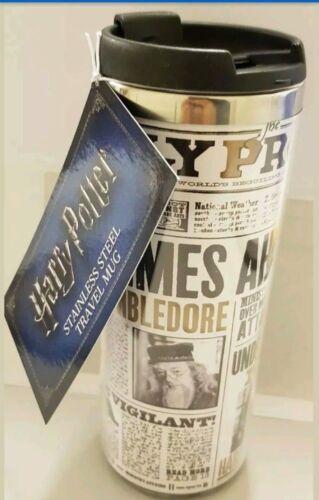 Harry Potter en acier inoxydable Tasse de Voyage Journal Design Thé Café Cadeau Primark