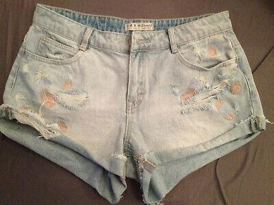 Damen Shorts Jeans Gr.40 Hellblau