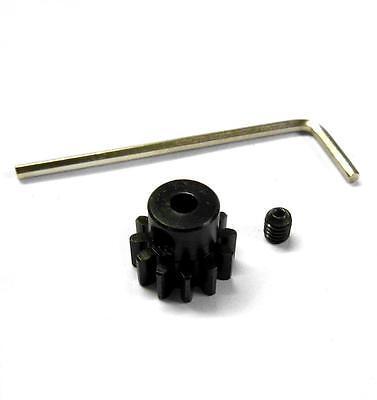 L830 Module 0.8 0.8M 30T 30 Teeth Tooth Motor Pinion Gear Black 1//10 540 3.17mm