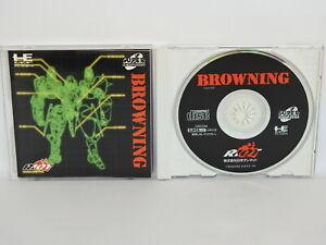 BROWNING-PC-Engine-SCD-PCE-Grafx-Japan-pe