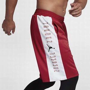 2f34bb88b241 New Mens Nike Air Jordan Retro 11 Reversible Shorts AA2964-687 Red ...