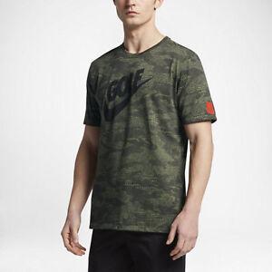 d5154525 Nike Golf Dry Desert Camo Palm Green Men'sT-Shirt Dri-Fit 839855 387 ...