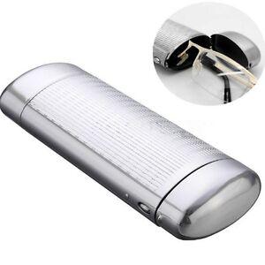 Silver-Hard-Metal-Glasses-Case-Storage-Aluminum-Sunglasses-Case-Boxes-Protector