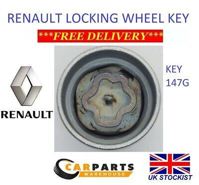 Mk3 08-16 TPI Black Wheel Bolt Nut Covers 17mm Nut for Renault Megane