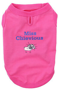 Dog-Tank-Top-Sleeveless-Miss-Chevious-by-Doggie-Design-Hot-Pink-CLEARANCE