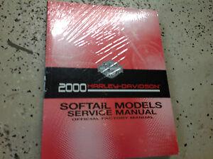 2000-Harley-Davidson-Softail-Suave-Cola-Modelos-Servicio-Tienda-Reparar-Manual