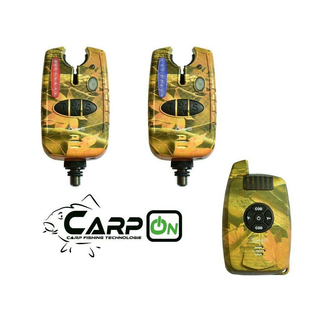 Carpon radio morso indicatore vincitore 21 Set 1 1 MIMETICO valigetta di trasporto 200m