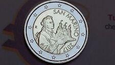 2 euro 2017 fdc San Marino saint marin NUOVA EFFIGE Сан - Марино