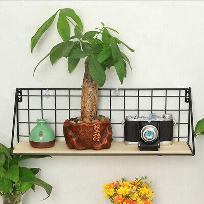 Home Garden Decor Iron Wall Mount Pot Plant Holder Planter Rack Window Box S