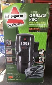 Bissell Garage Pro Wet Dry Canister Wall Mount Vacuum