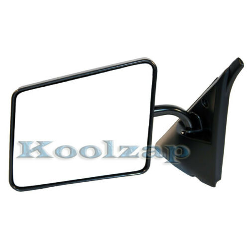 Chevy S10 Blazer Pickup Truck Black Manual Rear View Mirror Left Driver Side LH