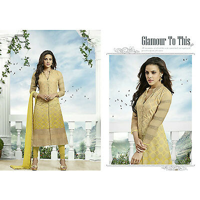 DESIGNER Pakistani Semi Stitches Dress Material,Salwar suit-divin life-23004