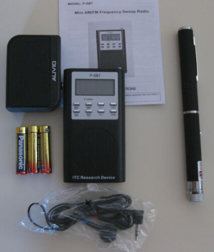FM//AM P-SB7 Spirit Ghost EVP Box GHOST HUNTING Hunter Equipment Laser Grid Pen