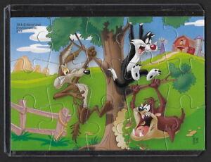 Jouet kinder Looney Tunes puzzle 2D UN083 France 2010 + étui de protection +BPZ DYOvbgLT-08025116-277202974
