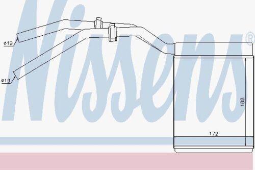 Nissens 71770 Syst/ème de chauffage