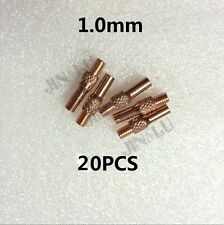 20pk Contact Tip 1.0 OEM MIG Spool Gun Wire Feed Aluminum Steel Torch