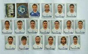 Panini-coupe-du-monde-2010-Grece-Greece-equipe-equipe-COMPLETE-SET-WORLD-CUP-WC-10
