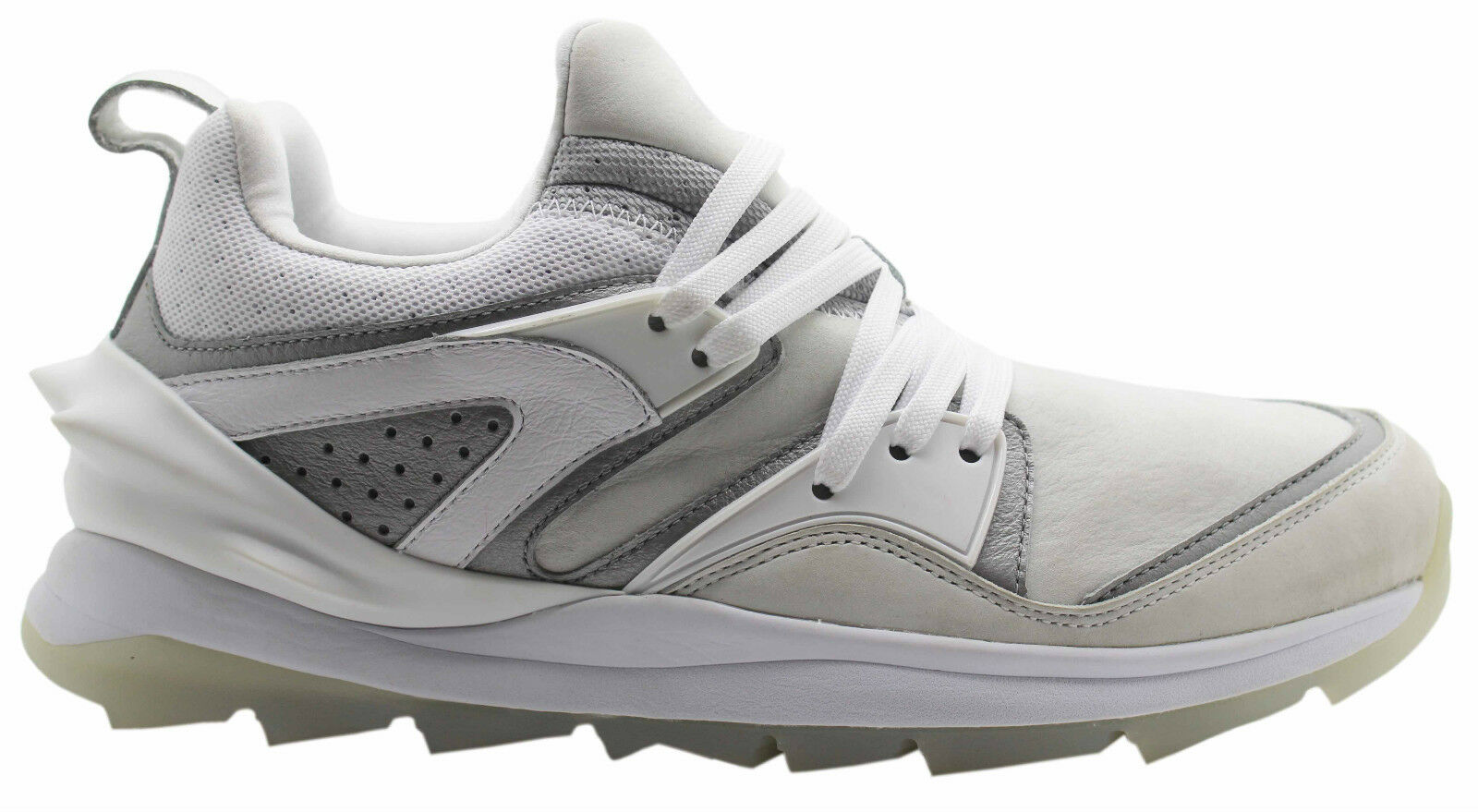 Puma Blaze Swift Tech Mens Trainers White Leather Lace Up 357824 02 D39 The most popular shoes for men and women