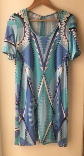 Averardo Bessi  Size 8 Mod Dress Signature Print