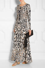 NEW  Temperley London Sherard Fitted Long Dress UK10 (Retail $990)
