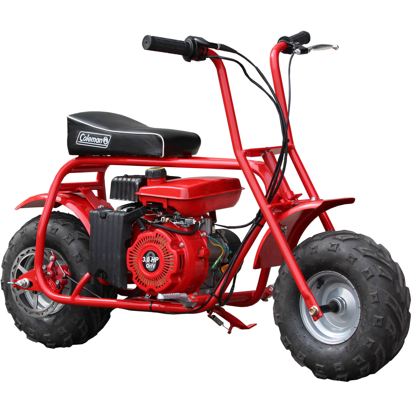 NEW Coleman Powersports CT100U Gas Powered Mini Trail Bike Scooter Trail 100