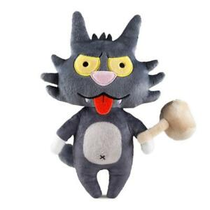 Scratchy-The-Simpsons-Phunny-Plush-Doll-Kidrobot-Brand-New-With-Tags