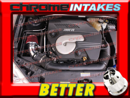 CF BLACK RED 04 05 06-11 CHEVY MALIBU//PONTIAC G6 3.5L//3.6L//3.9L V6 AIR INTAKE S