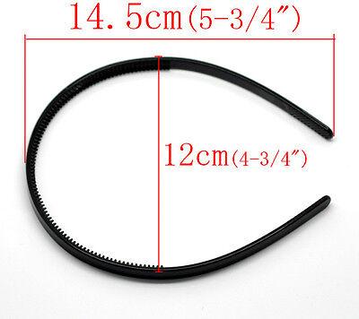 Ladies Alice Headband / Hairband  8mm Thick - choose colour