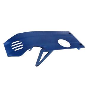 Engine-Skid-Plate-For-XR50-CRF50-90cc-110cc-125cc-140cc-Pit-Dirt-Bike-Blue