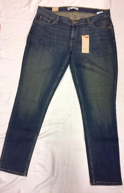 Nuovo Livis 524 Jeans Blu Uomo Aderente Taglia x 32 32 32 Lusso con Etichetta cb4c69