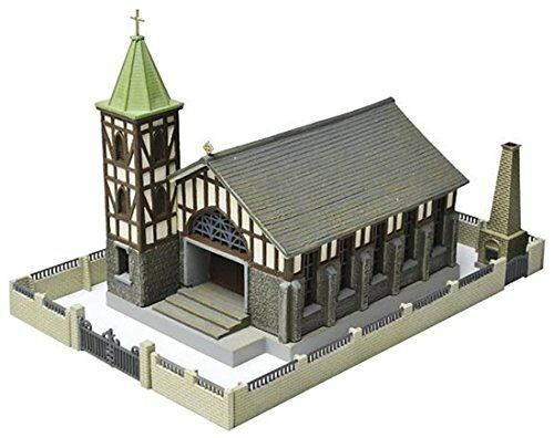 TOMYTEC N Scale 1//150 The Building Collection 052-2 Church C2