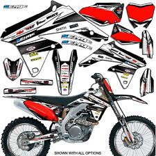 2005 2006 RMZ 450 GRAPHICS KIT SUZUKI RMZ450 05 06 DECO DECALS STICKERS MOTO
