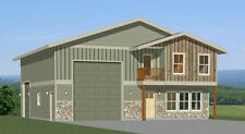 40x42 House -- 3 BR 2.5 Ba 1-RV Garage - PDF Floor Plan - 1,619 sqft - Model 2D
