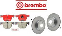 Bmw E70 X5 2011-2014 Xdrive50i Rear Brake Pads Kit With Rotors Brembo on sale