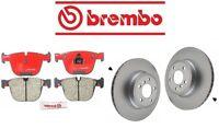Bmw E70 X5 2011-2014 Xdrive50i Rear Brake Pads Kit With Rotors Brembo on sale