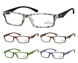 Eyeglasses-Reading-Glasses-Women-039-s-Lani-Piton-with-Case-Montana-MR94