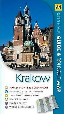 """""""AS NEW"""" AA Publishing, Krakow (AA CityPack Guides), Paperback Book"""