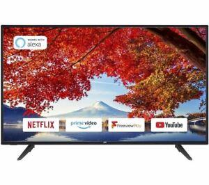 "JVC LT-43C700 43"" Smart Full HD LED TV DAMAGED BOX"