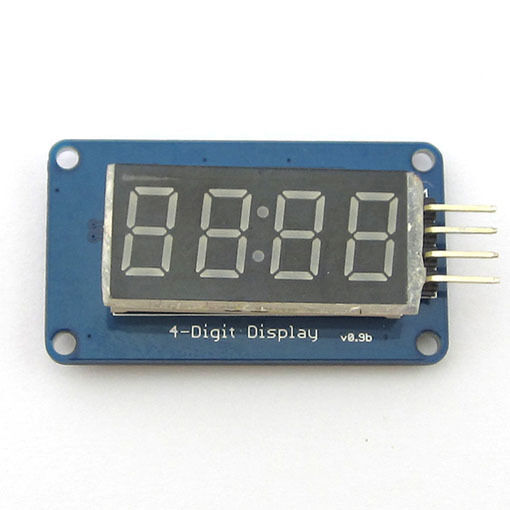 0.36 inch 4 Bits Digital LED Tube Module With Clock Display TM1637 Common Anode