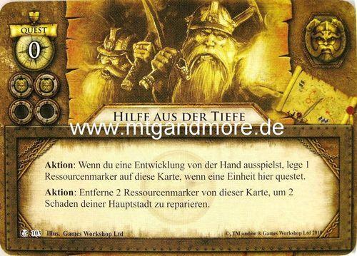 Warhammer Invasion 2x Hilfe aus der Tiefe  #103